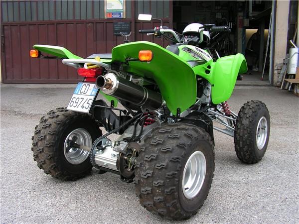 Kawasaki KFX 400 Quad