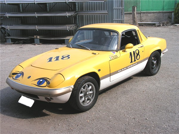 Lotus Elan 1600 (140HP-7800rpm)
